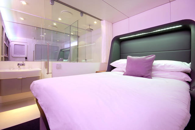 best airports for layovers yotel hotel amsterdam airport schiphol premium cabin