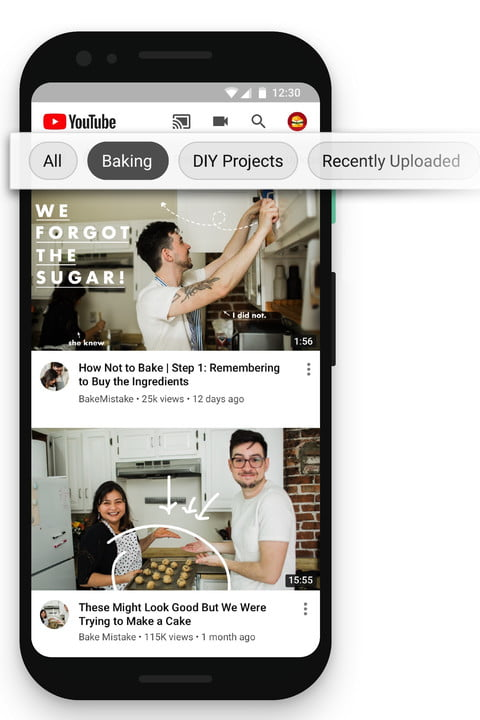 youtube more control suggested videos homepage explore topics