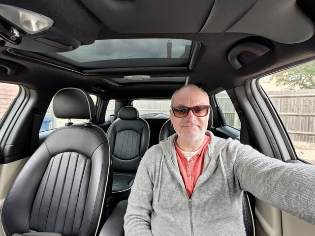 asus zenfone 7 pro review wide angle car selfie