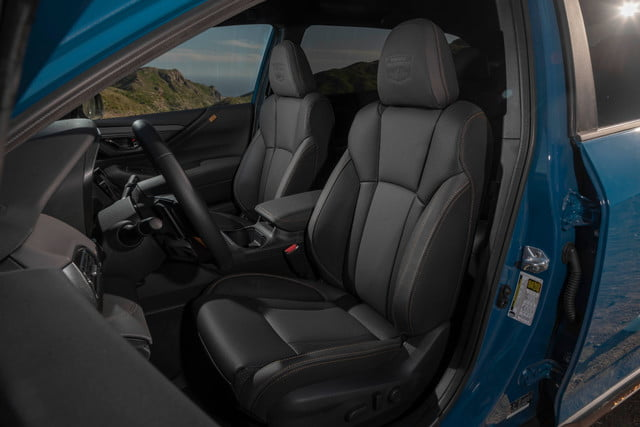 Subaru Outback Wilderness seats