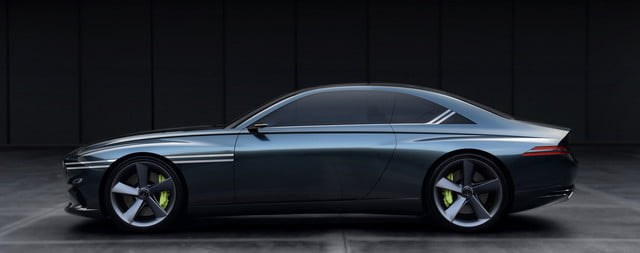 Genesis X Concept side view