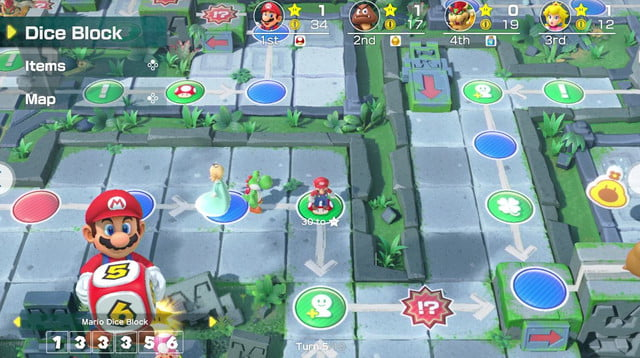 revision super mario party para switch