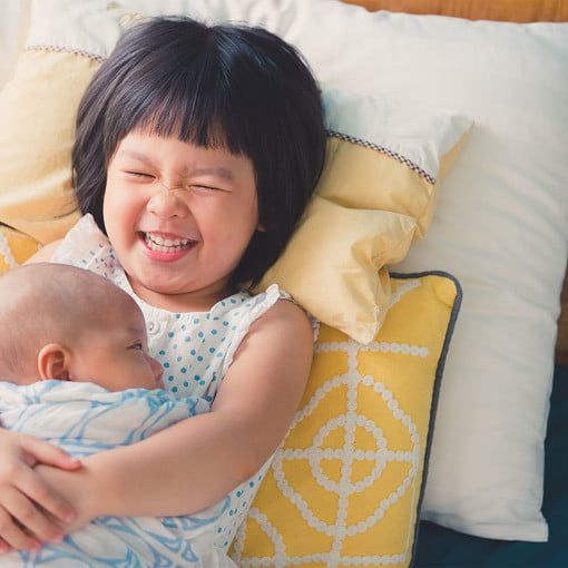 Precious Ideas For Big Sister Gifts From Baby Newfolks