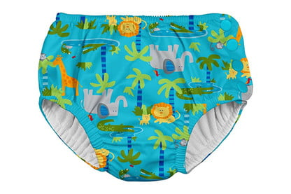 Royal Blue Sea Friends by green sprouts Boys Reusable Swim Diaper 5T i play