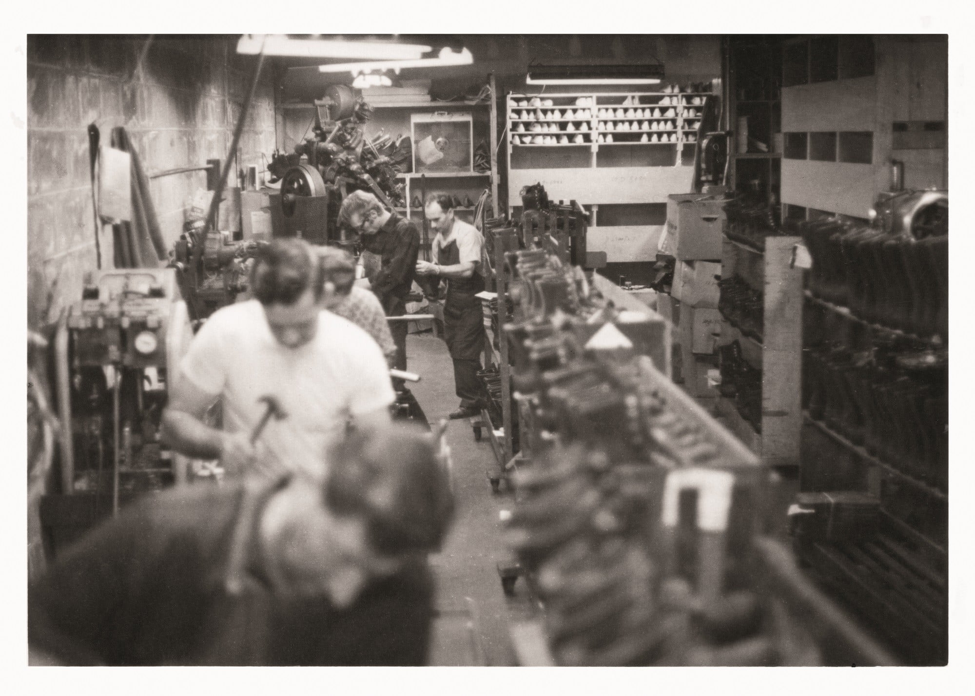 danner boots factory archival photos