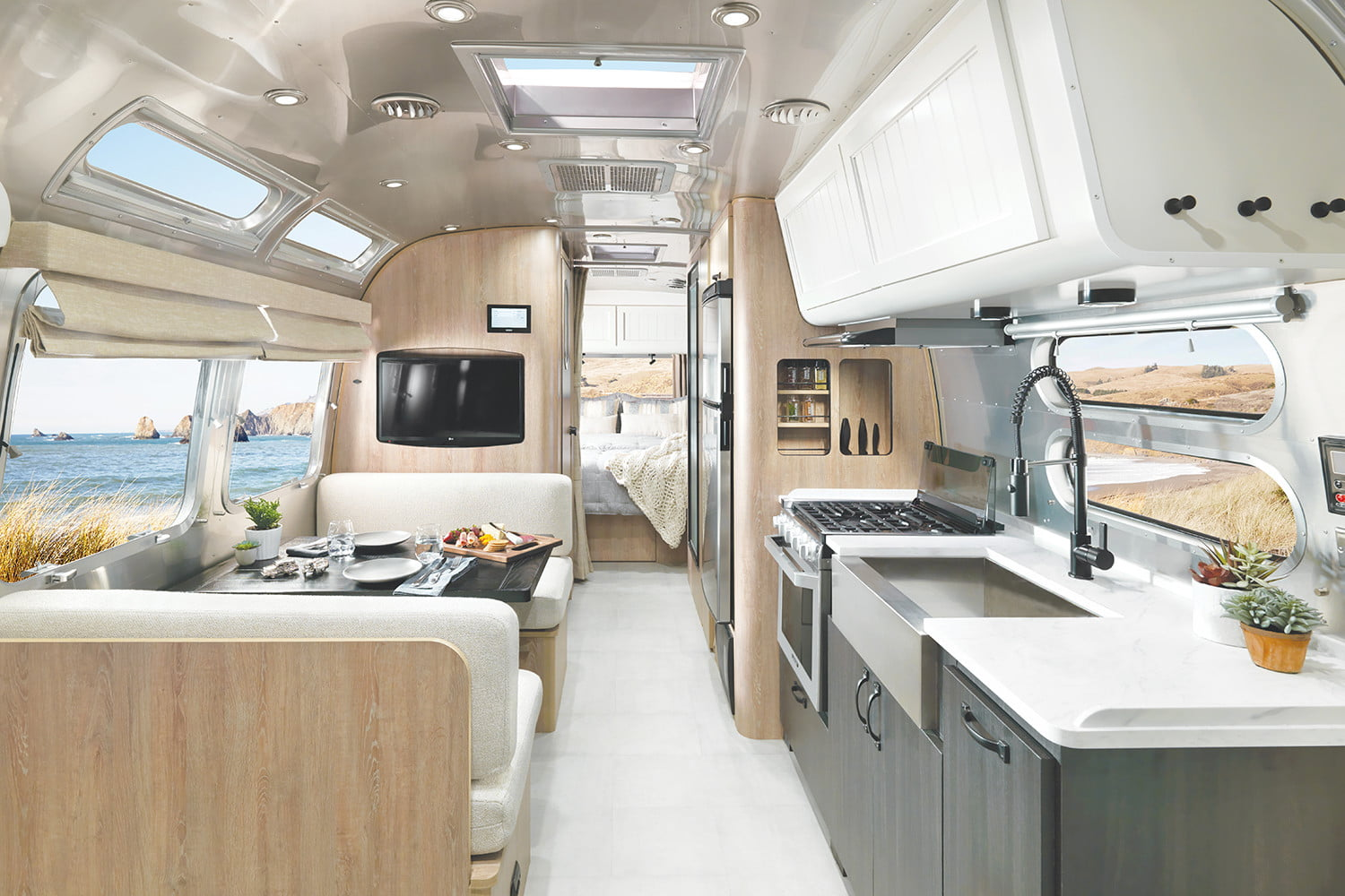 Airstream and Pottery Barn Trailer
