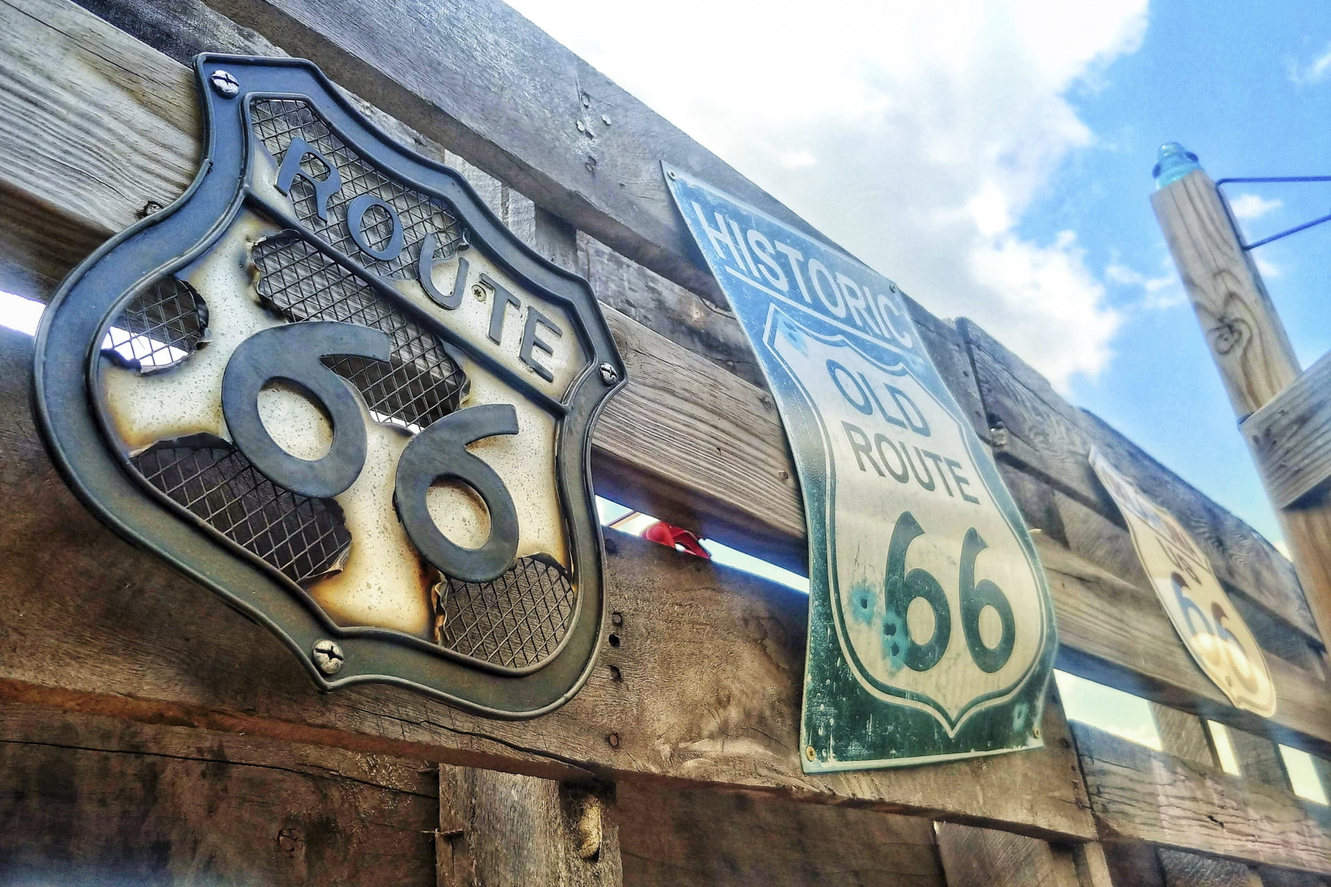 Driving the 2019 Corvette on Route 66