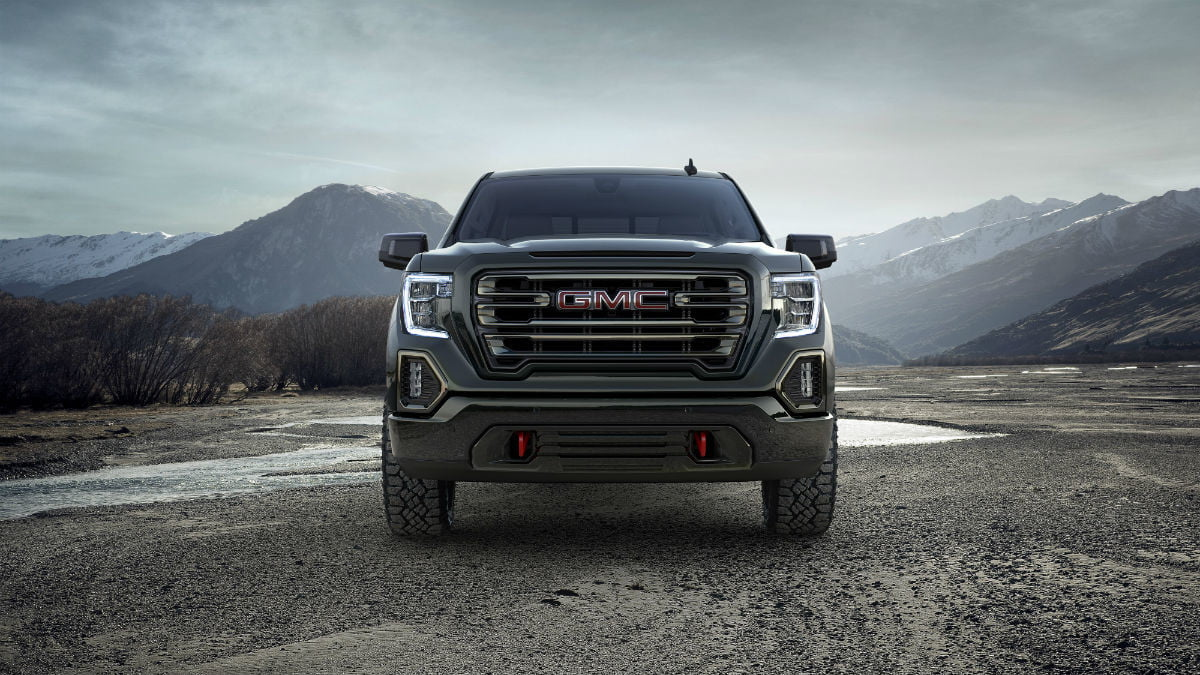 2019-GMC-Sierra-AT4-front