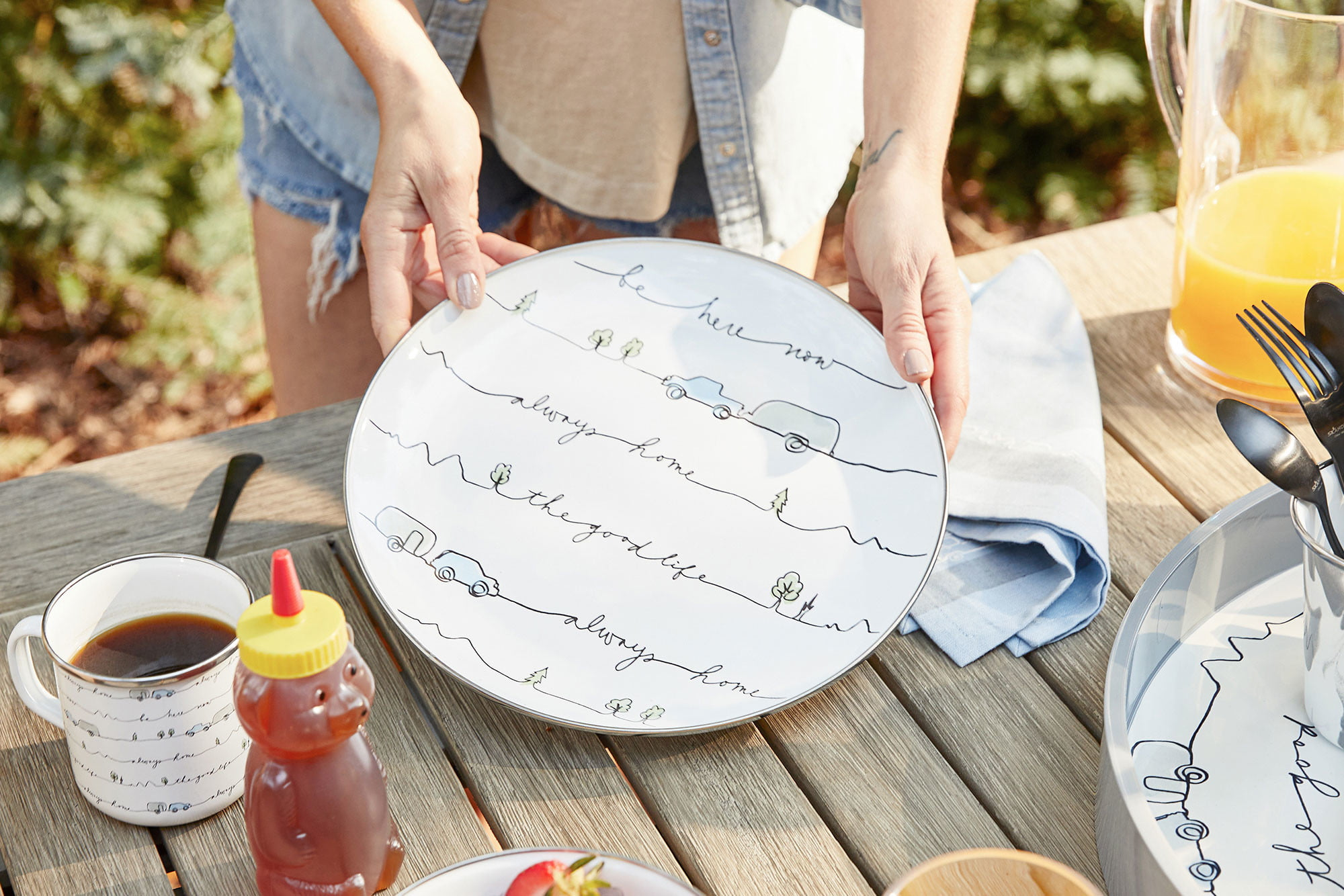 Airstream x Pottery Barn Collection Outdoor Dinnerware