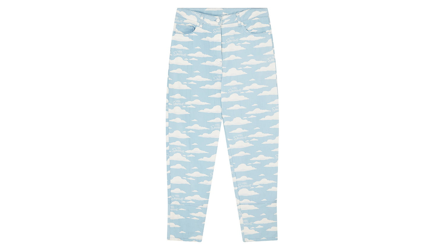 asos x the simpsons collection bluecloudpants