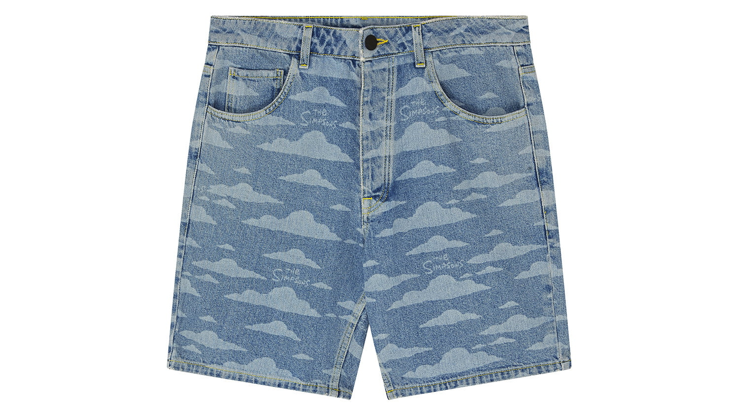 asos x the simpsons collection bluecloudshorts