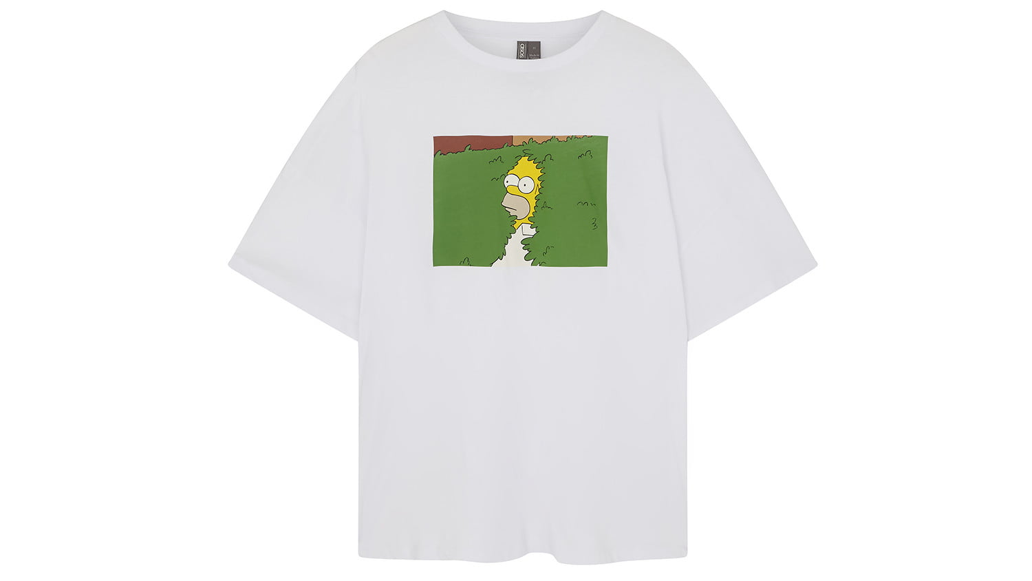 asos x the simpsons collection homerteewhite
