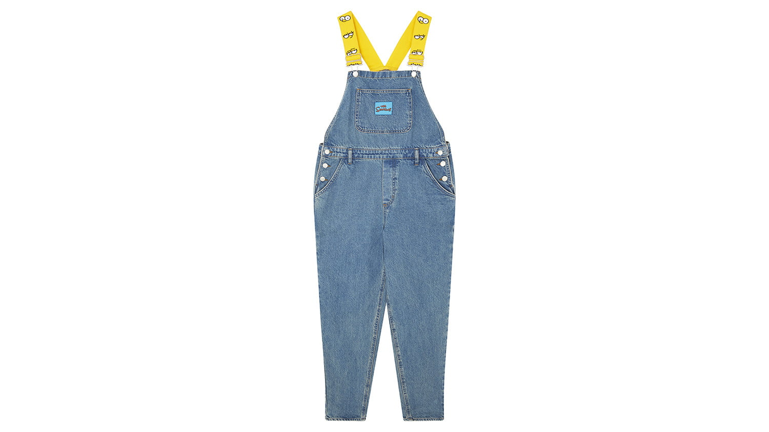 asos x the simpsons collection overalls