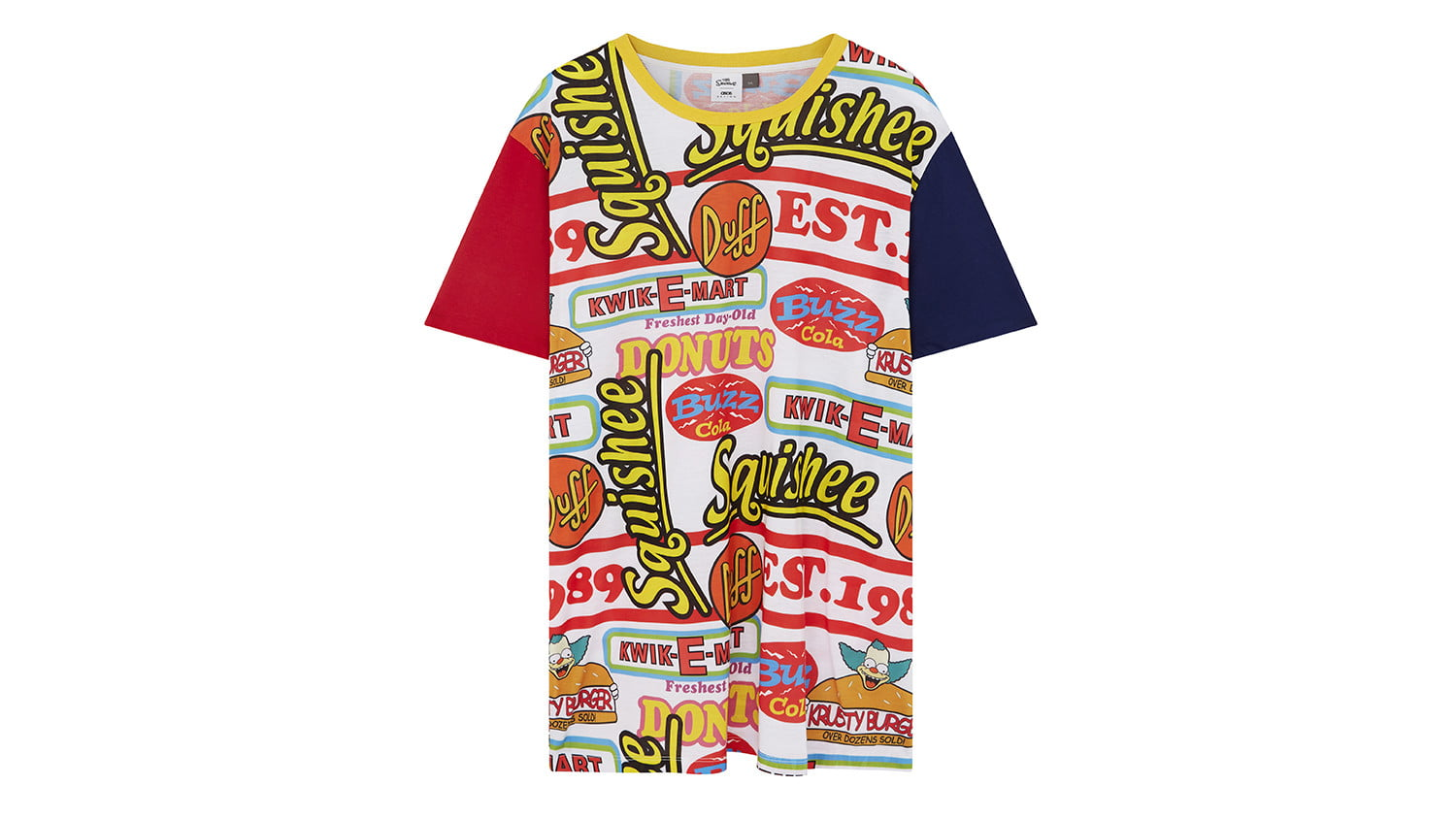 asos x the simpsons collection quickeemarttee