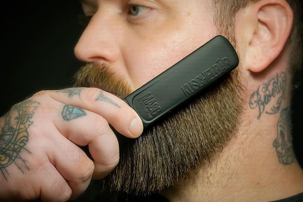 How To Straighten Your Beard At Home With A Heated Brush Or Blow Dryer The Manual