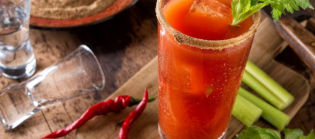 how to make a bloody mary caesar cocktail