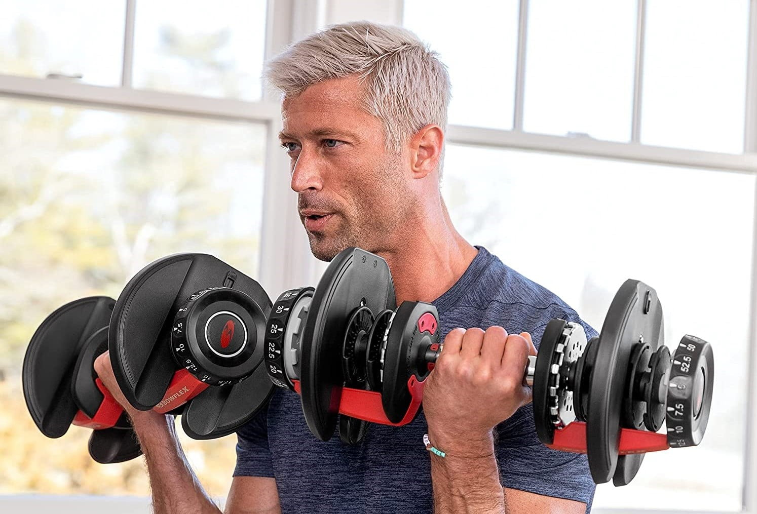 You Won't Believe How Cheap Bowflex Dumbbells Are at Amazon Today