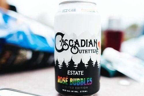 A can of Cascadian Outfitters.
