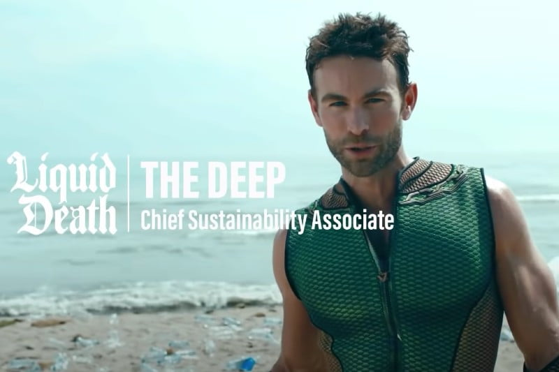 Chace Crawford as The Deep in 'The Boys' teaser from Amazon Video .