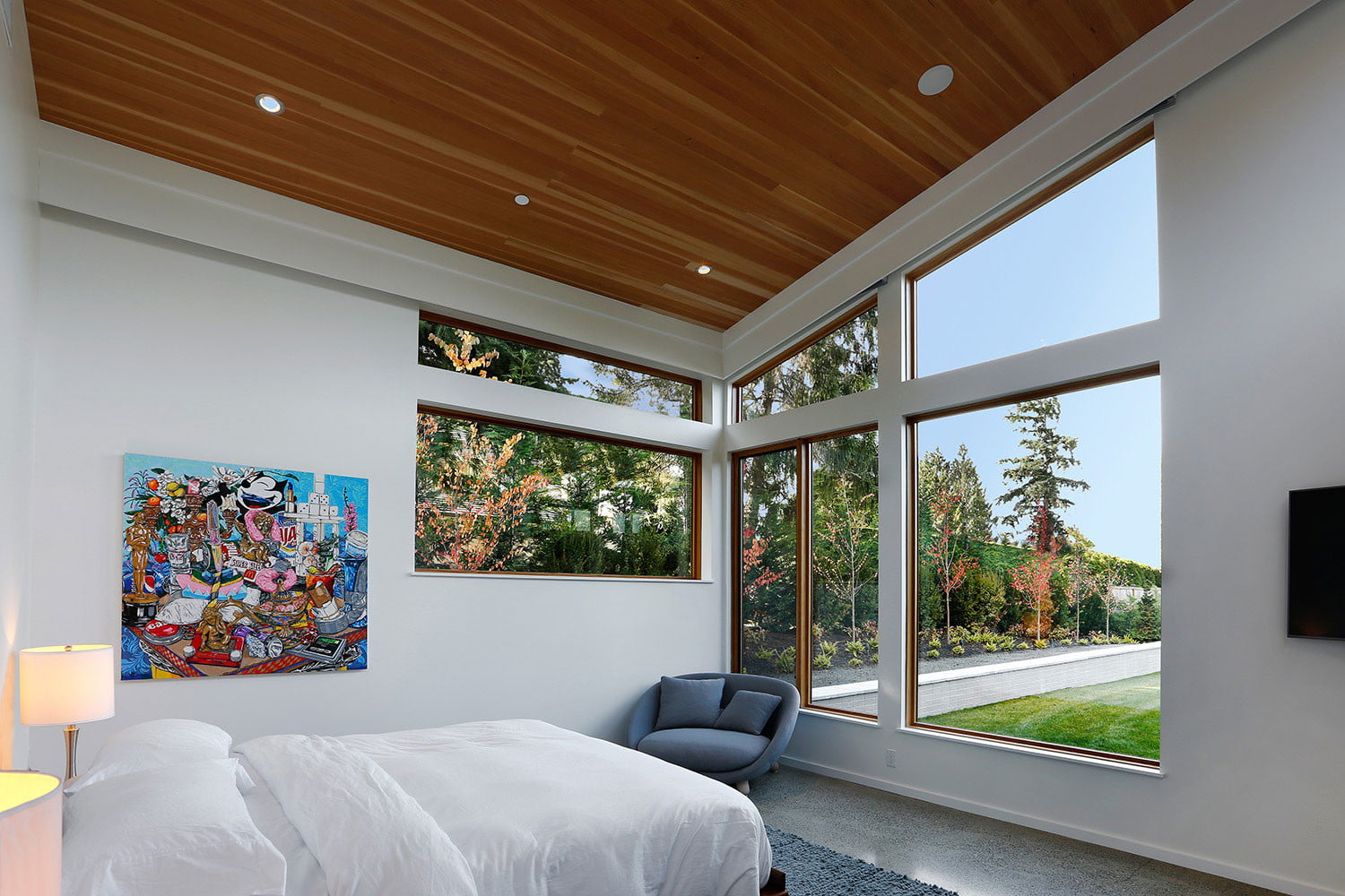 clyde hill house mid century modern revival residence 10