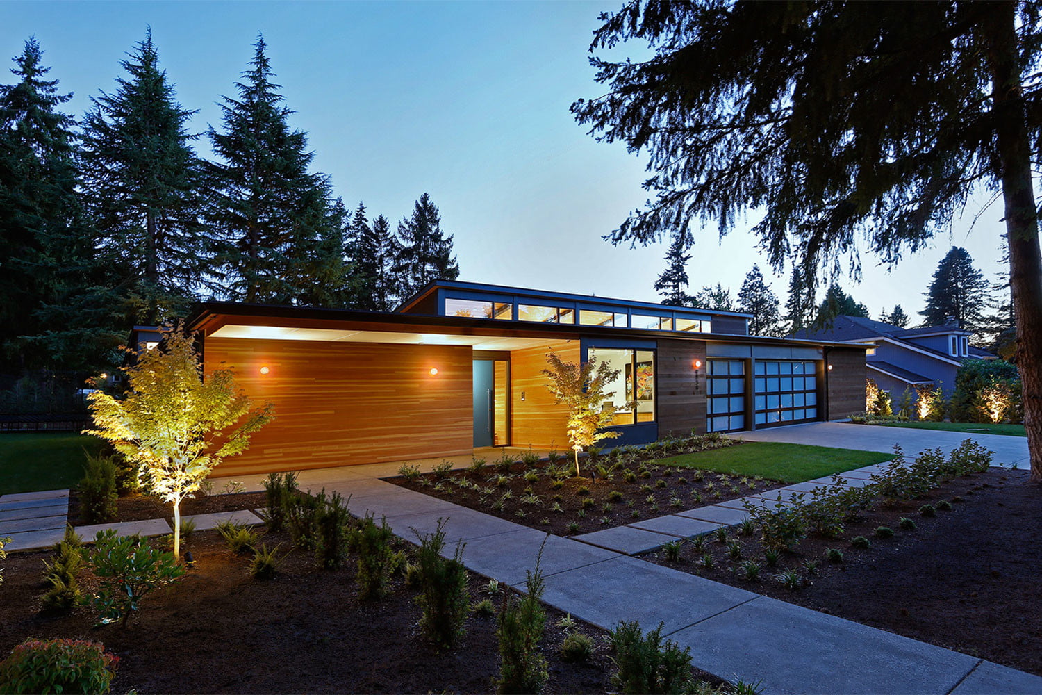 clyde hill house mid century modern revival residence 11