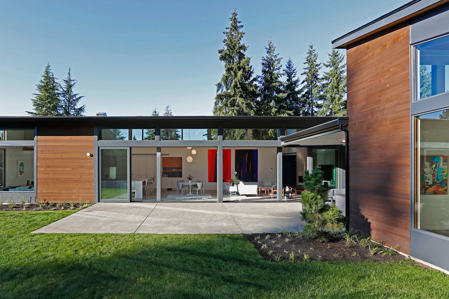 clyde hill house mid century modern revival residence 12