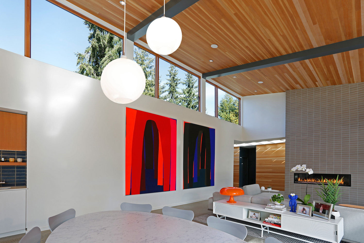 clyde hill house mid century modern revival residence 2