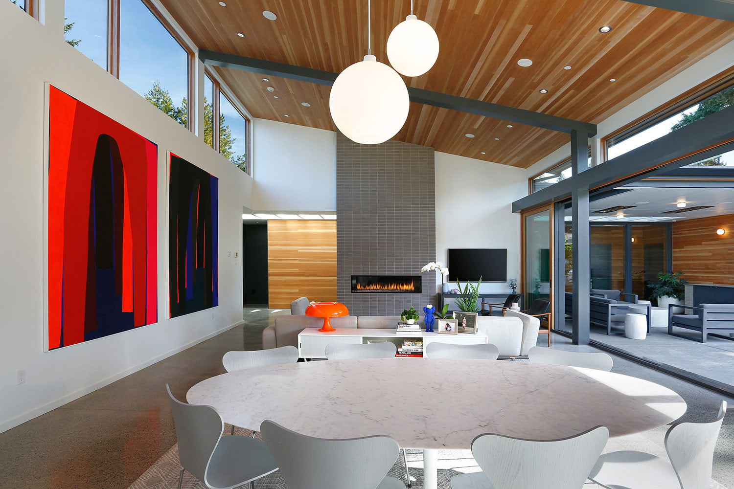 clyde hill house mid century modern revival residence 4