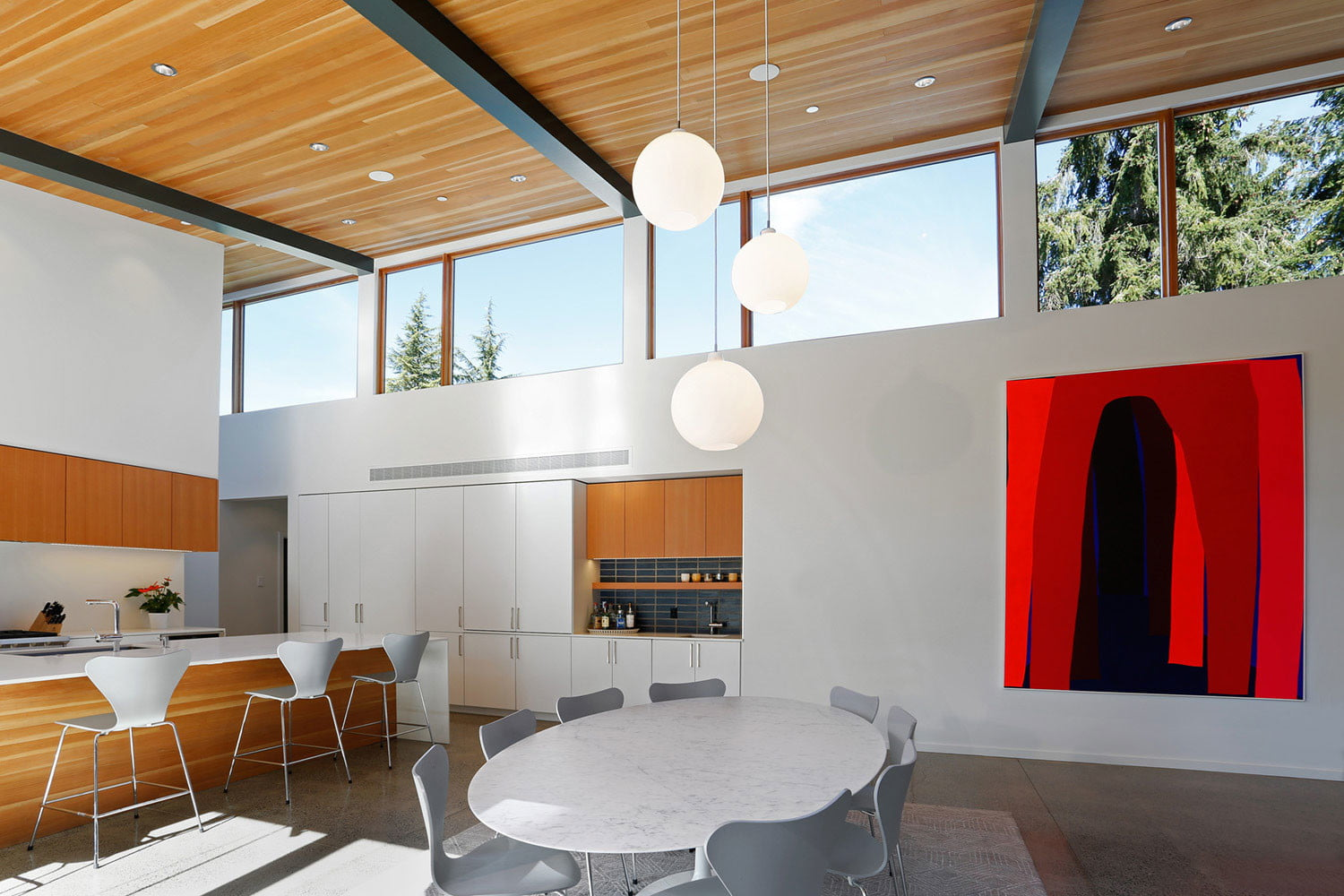 clyde hill house mid century modern revival residence 6