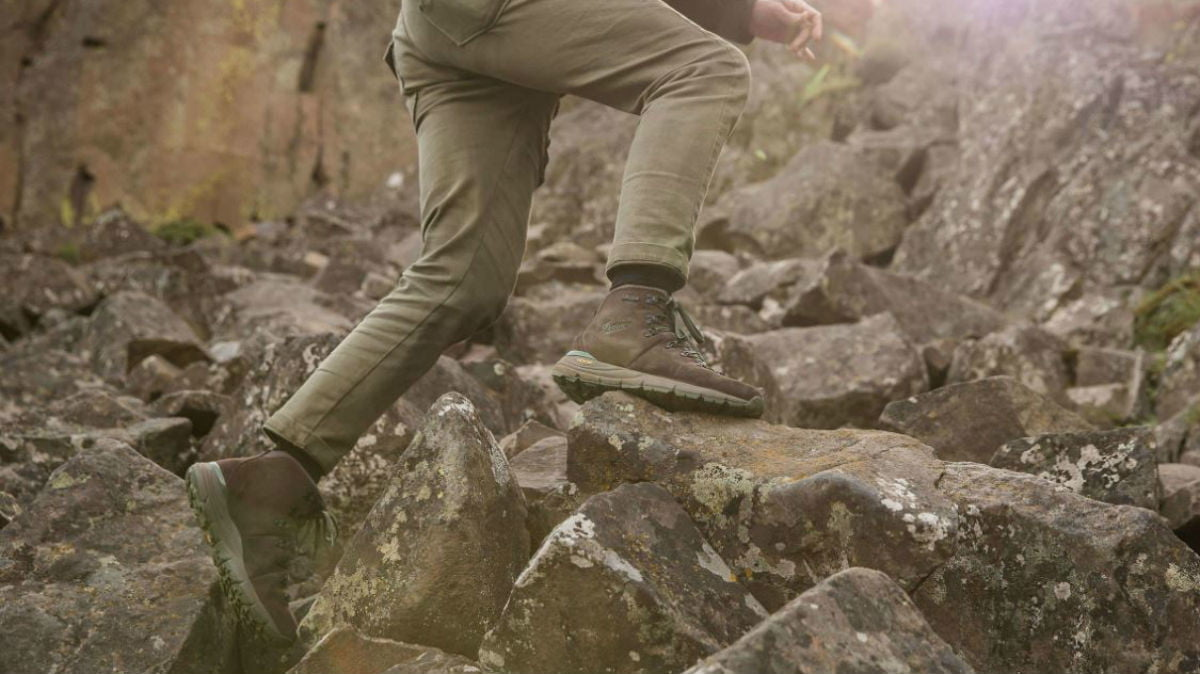 danner mountain 600 brown action 1