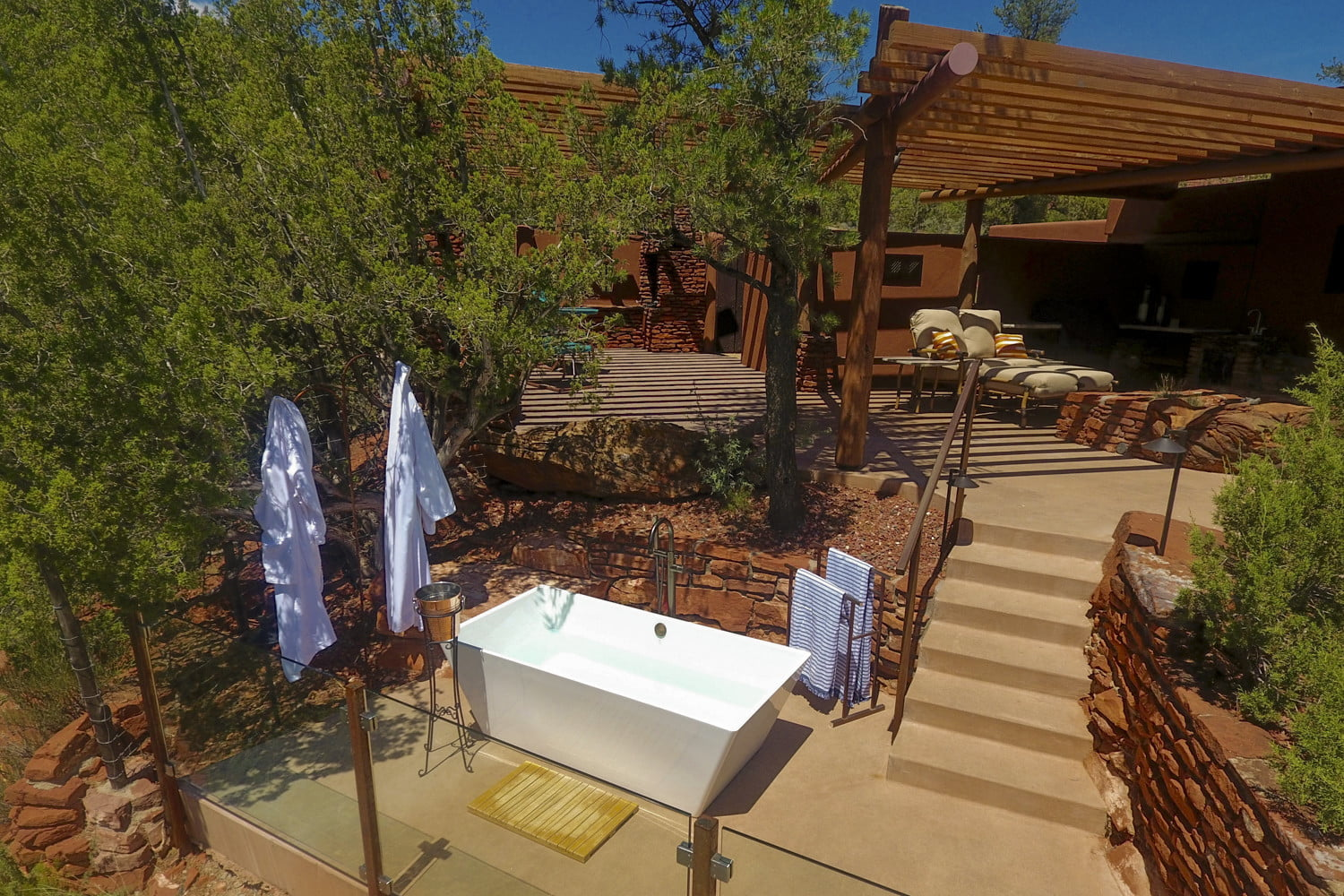 this luxury sedona vacation rental is like a personal resort for two dcim100mediadji 0071 jpg