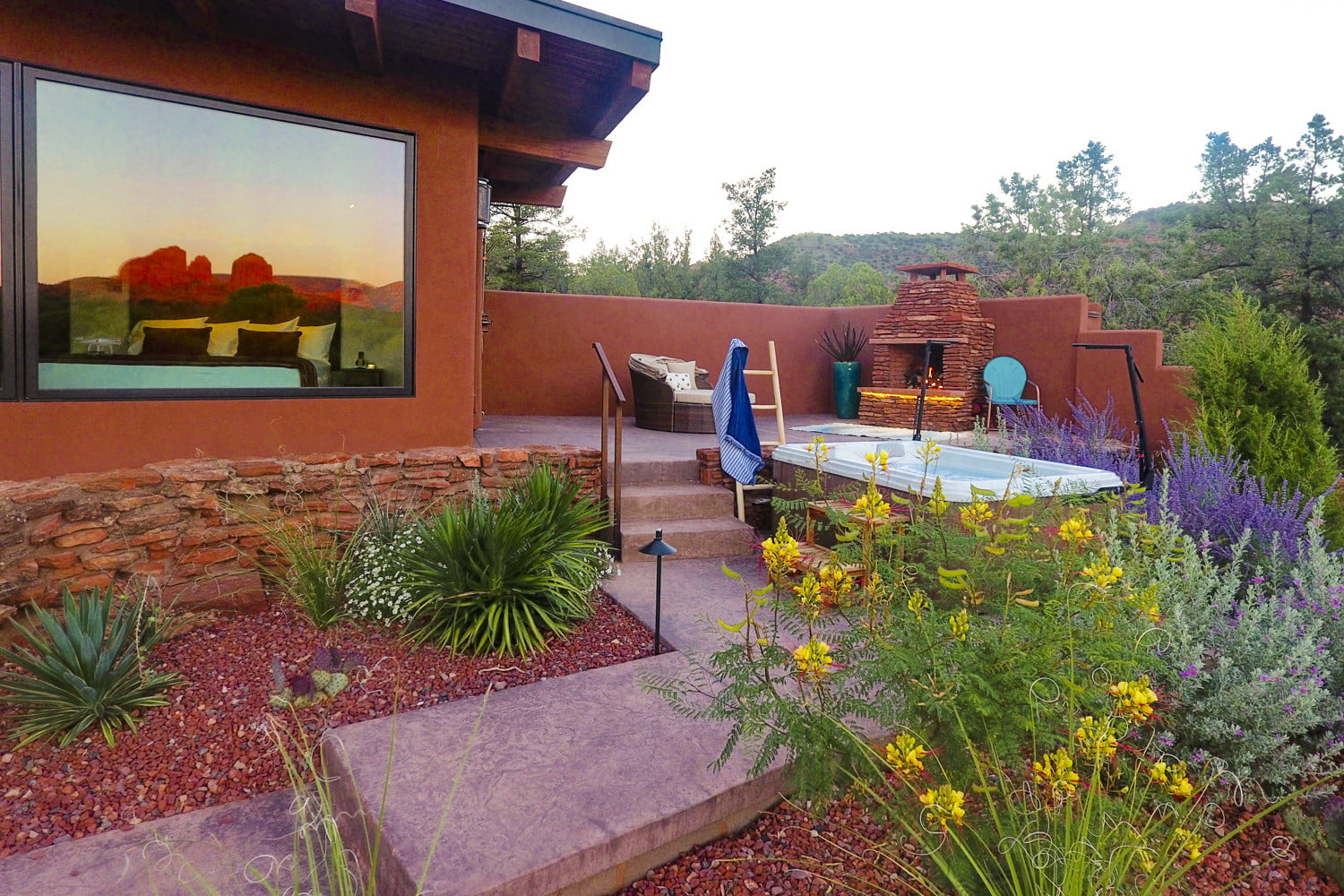 this luxury sedona vacation rental is like a personal resort for two dcim100mediadji 0083 jpg