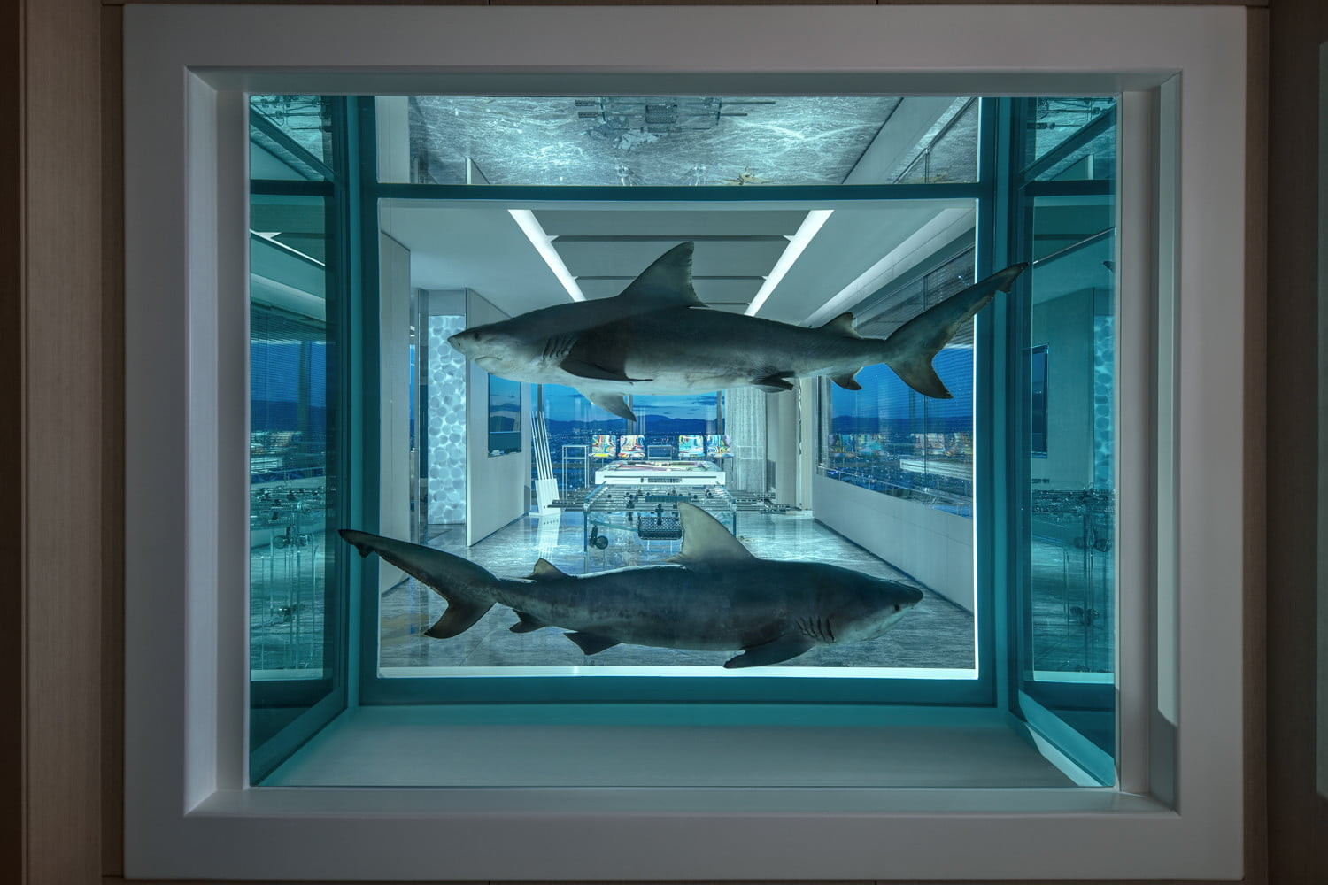 this 100000 a night vegas hotel suite is the worlds most expensive empathy designed by damien hirst winner loser 2018