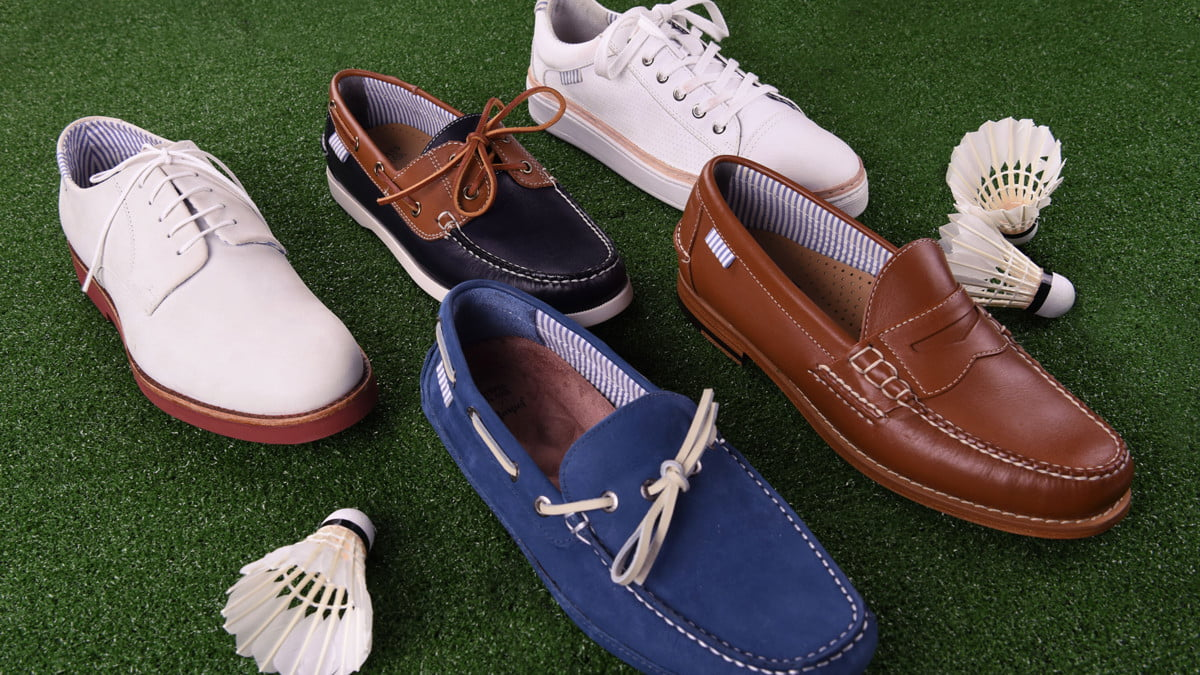 gh and bass co haspel clothing partnership shoes  capsule group shot v2