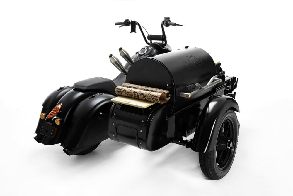 Indian Motorcycle Traeger Wood Fired Grills Thor Drake