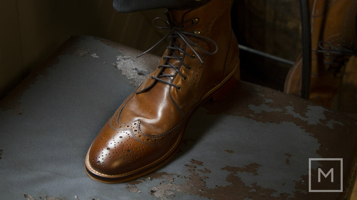what to wear a holiday party johnston  amp murphy conard wingtip boots by the manual credit genevieve poblano3