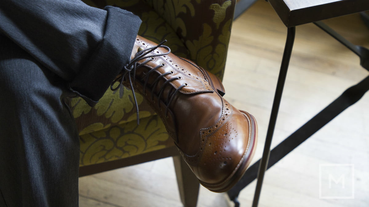 what to wear a holiday party johnston  amp murphy conard wingtip boots by the manual credit genevieve poblano3 1
