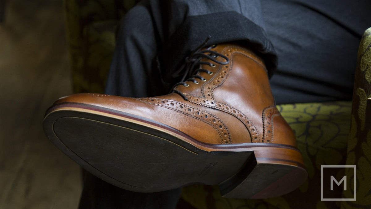 what to wear a holiday party johnston  amp murphy conard wingtip boots by the manual credit genevieve poblano 1