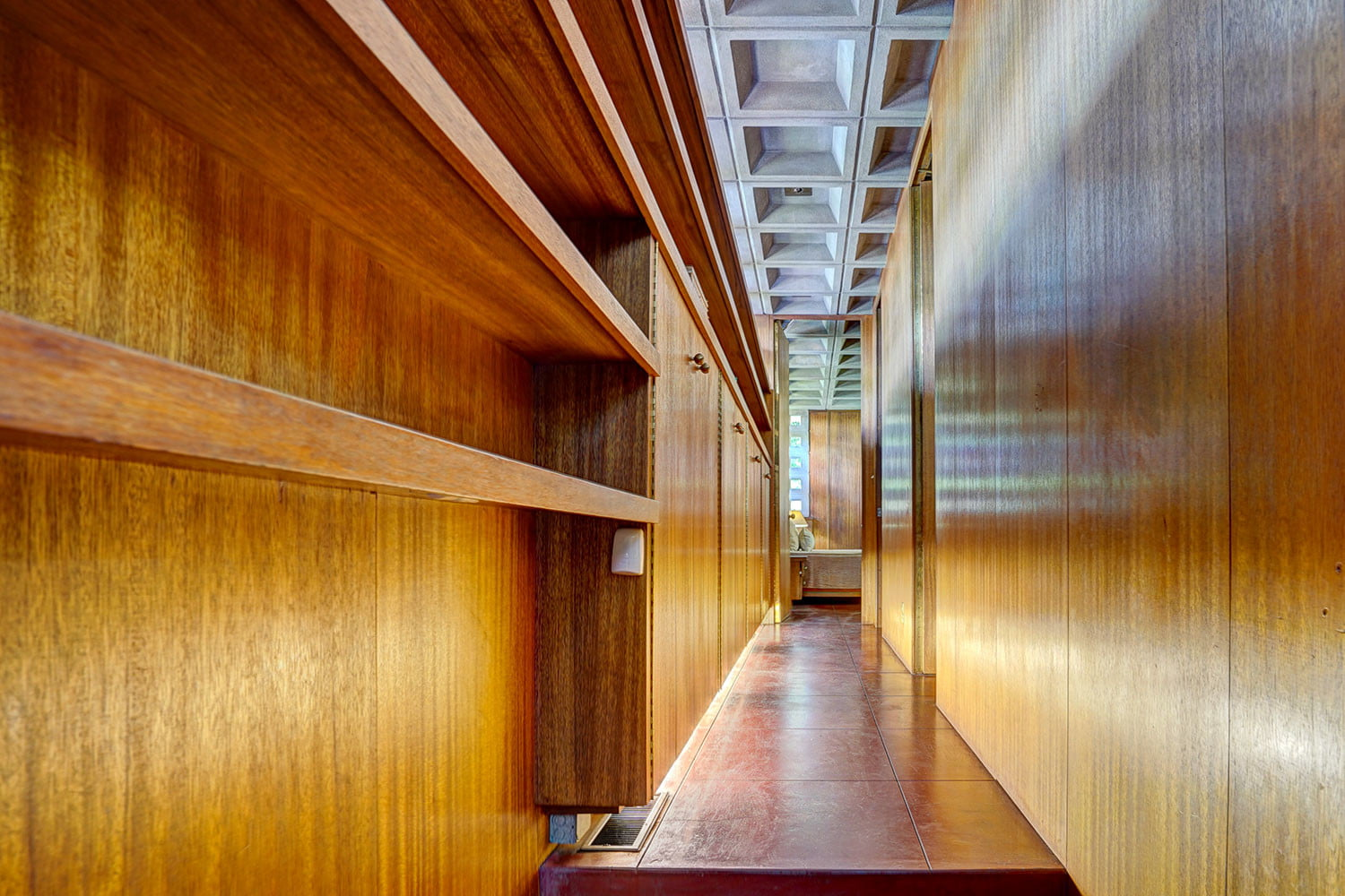 kalil house usonian automatic frank lloyd wright currier museum of art 13