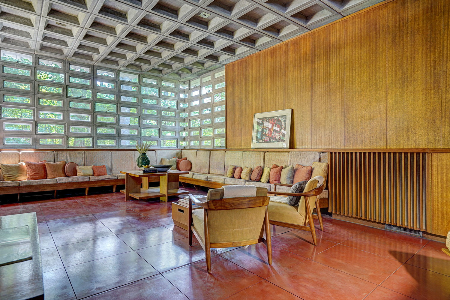 kalil house usonian automatic frank lloyd wright currier museum of art 14