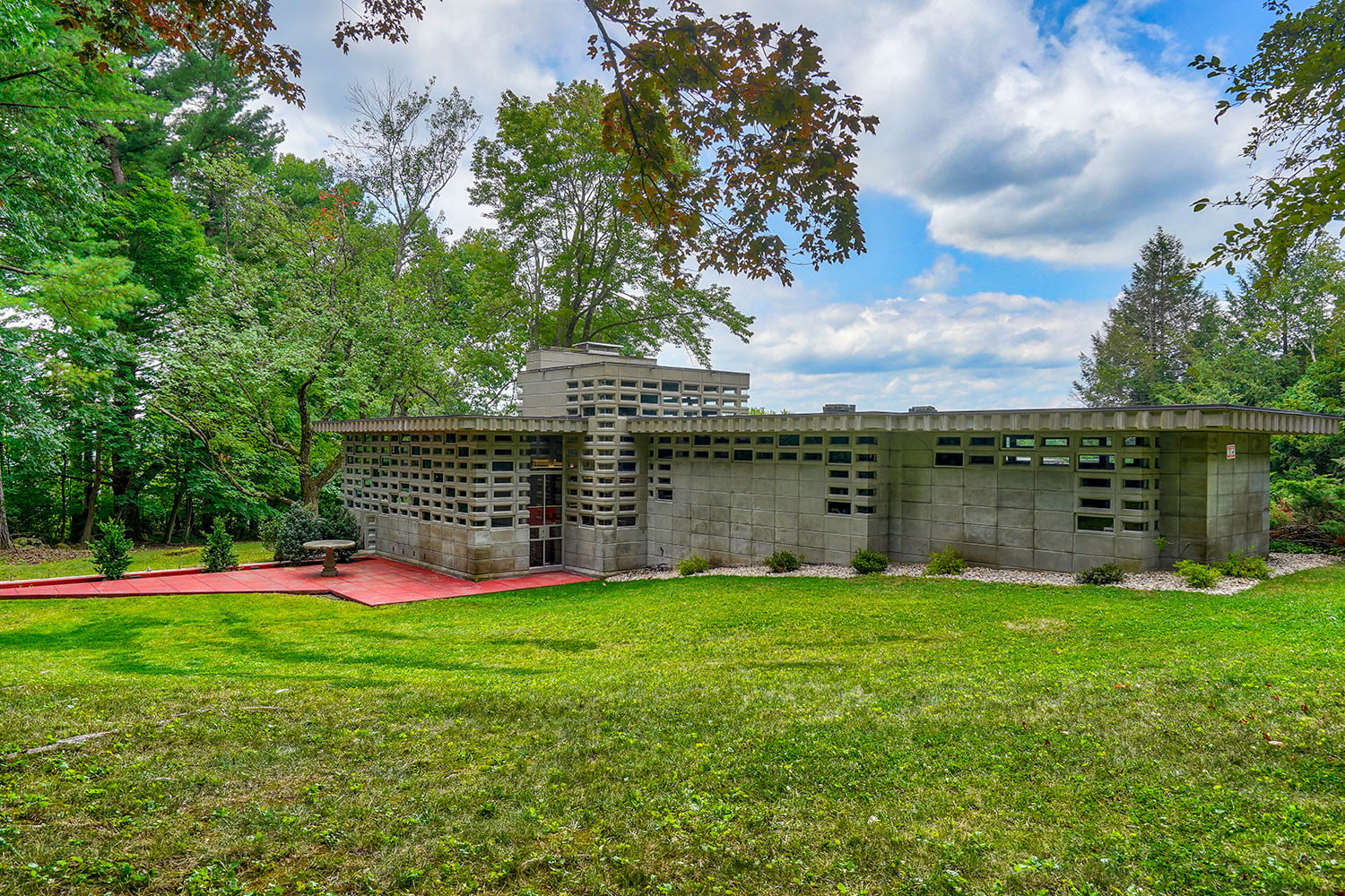 kalil house usonian automatic frank lloyd wright currier museum of art 7