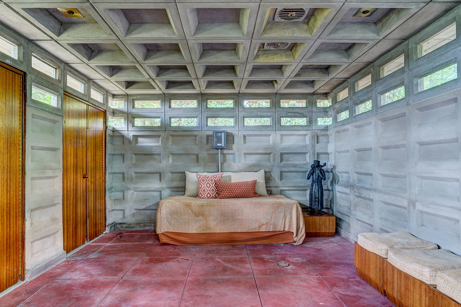 kalil house usonian automatic frank lloyd wright currier museum of art 8