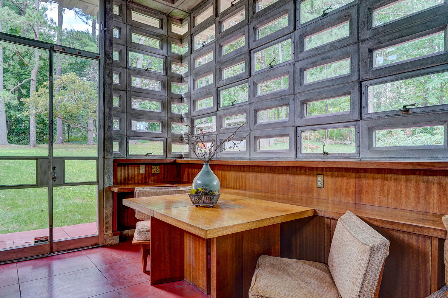 kalil house usonian automatic frank lloyd wright currier museum of art 9