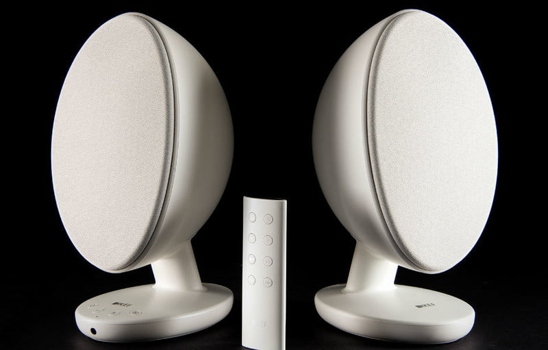 kef puts big sound in small packages with egg wireless bluetooth speakers kit manual