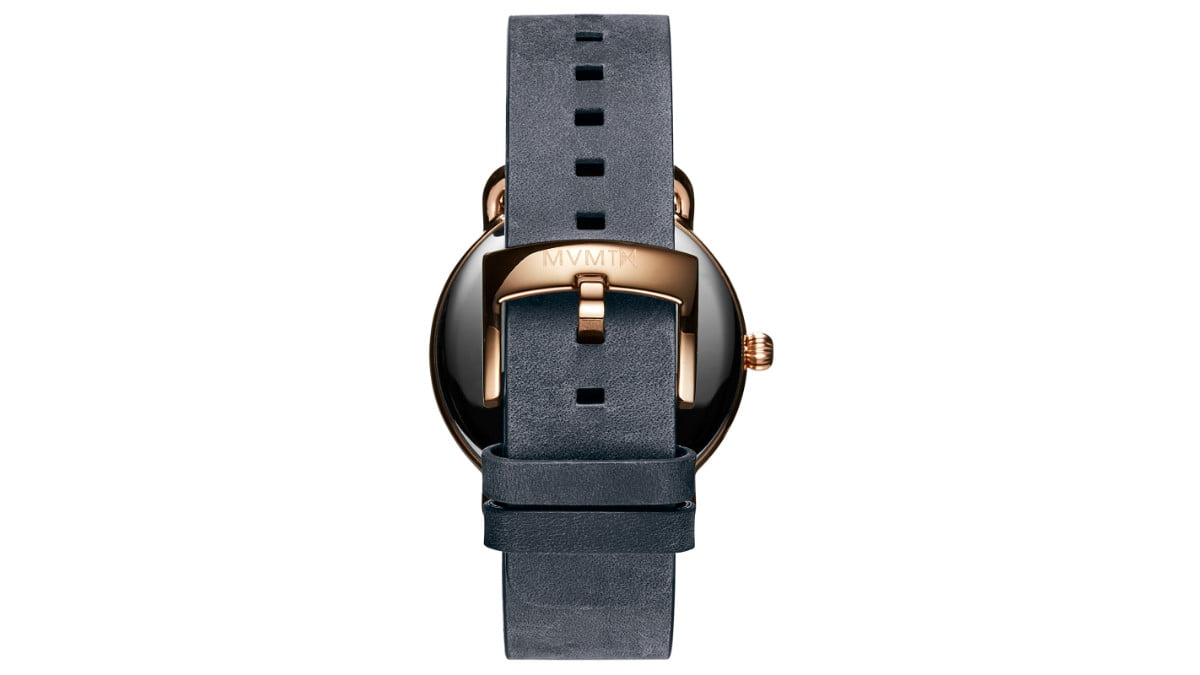 this mvmt revolver watch sold out in less than a day kolder mens leather back