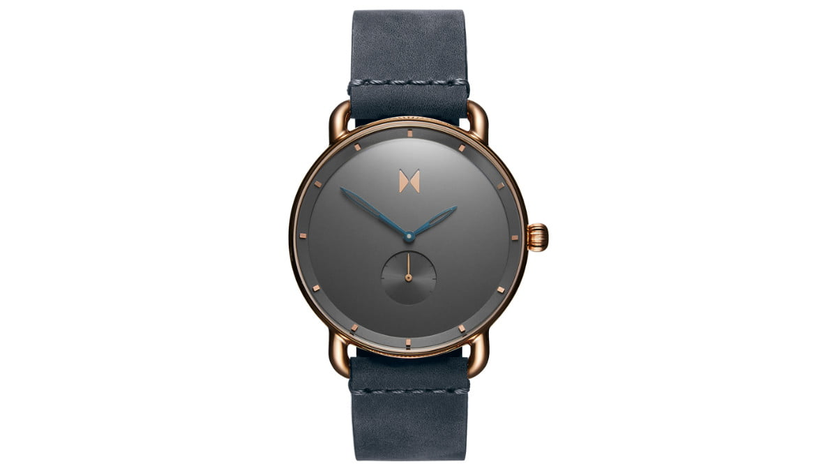 this mvmt revolver watch sold out in less than a day kolder mens leather front