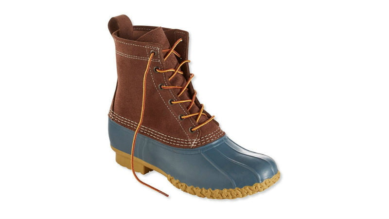 LL Bean Winter Batch Eight Inch Suede Limited Edition