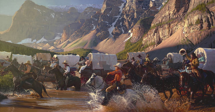 Artist Mark Maggiori Is Painting a New Old West | The Manual