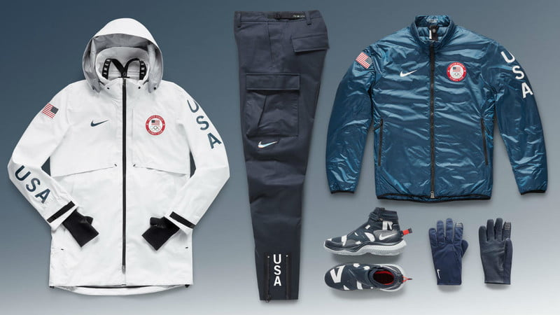 nike medal stand collection team usa