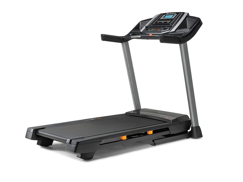 NordicTrack T Series 6.5 Si treadmill on white background.